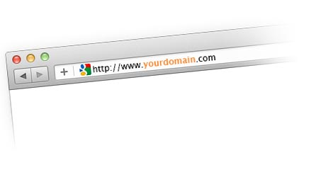 Get your domain to start building your site