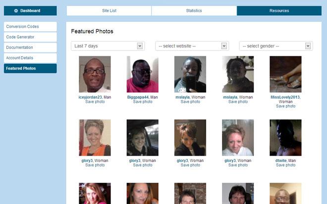 Whitelabel Dating Member Photos